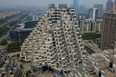 Chung cư 'kim tự tháp' gây sốt ở Trung Quốc