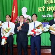 UBND Thành phố Cần Thơ có 3 tân Phó Chủ tịch