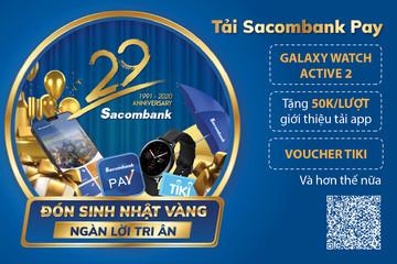Sacombank Pay - ngân hàng trong tay