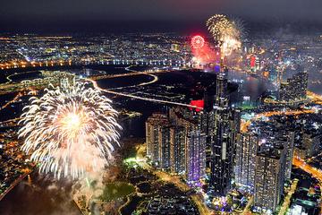 TP HCM xin bắn pháo hoa 3 điểm mừng Tết Dương lịch