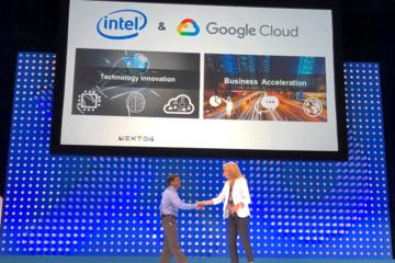 Intel và Google hợp tác triển khai mô hình kinh doanh trên nền tảng đám mây