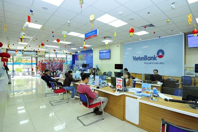 VietinBank sắp chia cổ tức tiền mặt tỷ lệ 5%. Ảnh: VietinBank.