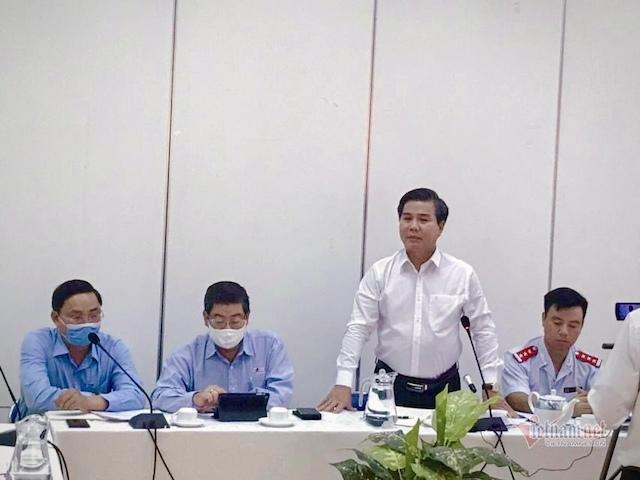 Ông Nguyễn Ngọc Tuấn, Chánh Thanh tra Bộ Xây dựng chủ trì buổi công bố quyết định thanh tra, yêu cầu đoàn thanh tra có kế hoạch khoa học để không làm ảnh hưởng đến hoạt động bình thường của đơn vị được thanh tra.