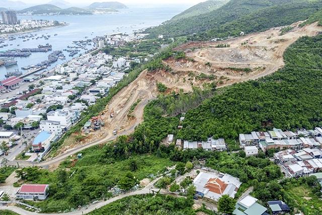 Khánh Hòa tổng rà soát dự án trên đồi núi tại Nha Trang