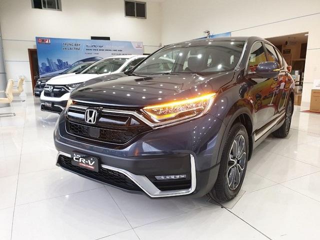 Honda CR-V 2020 giảm giá gần 100 triệu đồng