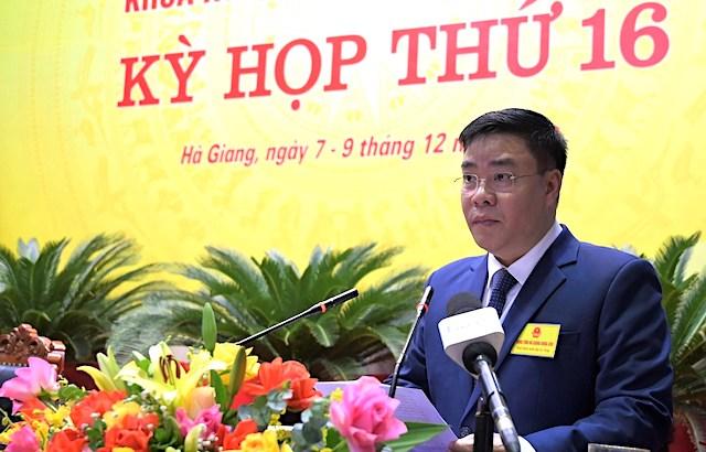 Giám đốc Sở Giao thông vận tải làm Phó Chủ tịch UBND tỉnh Hà Giang