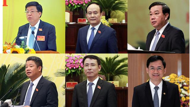 Hà Nội có tân Chủ tịch HĐND và 5 Phó Chủ tịch UBND thành phố