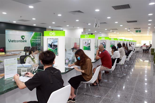 Vietcombank chốt quyền nhận cổ tức 8% tiền mặt
