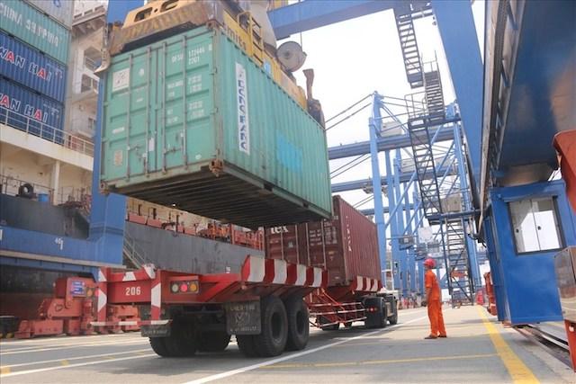 Cảng Cát Lái - nơi sẽ thu phí hạ tầng cảng biển đầu tiên ở TPHCM.
