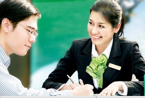 Ngân hàng sẽ tăng vốn qua trả cổ tức bằng cổ phiếu và phát hành riêng lẻ. Ảnh: Vietcombank.