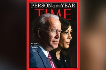 Time chọn Joe Biden, Kamala Harris là Nhân vật của Năm