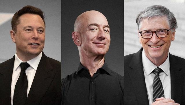 Ba tỷ phú giàu nhất tại Mỹ 'né' thuế thu nhập như thế nào?