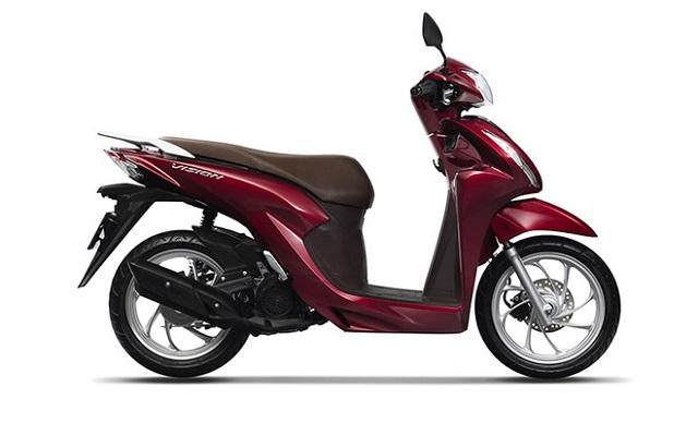 Honda Vision mới tại Việt Nam có 4 phiên bản, giá từ 29,99 triệu đồng