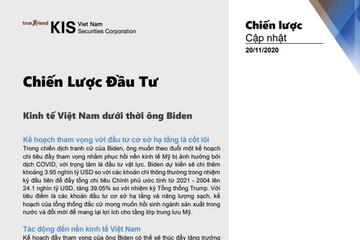 KIS: Kinh tế Việt Nam dưới thời ông Biden