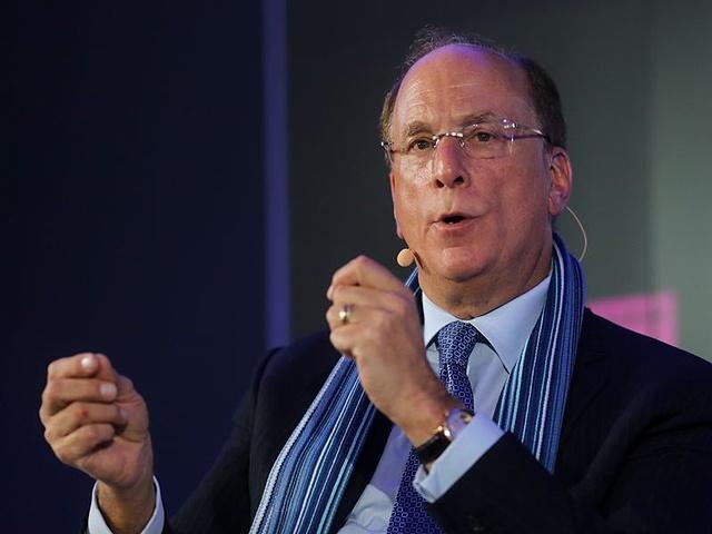Chuyên gia quản lý đầu tư Larry Fink khẳng định Bitcoin đang dần thu hút sự chú ý của giới tài chính thế giới. Ảnh: Bloomberg.