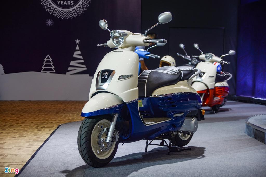 Peugeot Django có giá 68 triệu đồng, cạnh tranh Honda SH