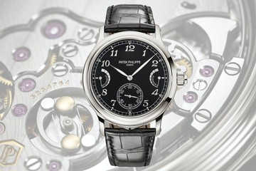 Đồng hồ điểm chuông Grande Sonnerie 6301P: Phiên bản độc đáo của Patek Philippe
