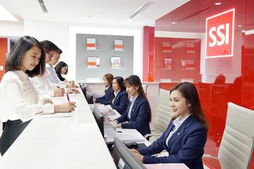 Công ty cổ phần Chứng khoán SSI - đơn vị tiêu biểu của ngành chứng khoán