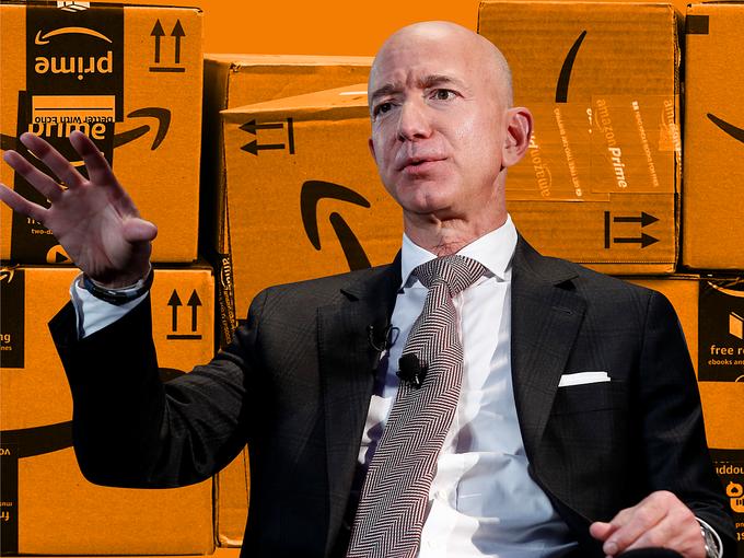 CEO Jeff Bezos đích thân 'chèo lái' Amazon