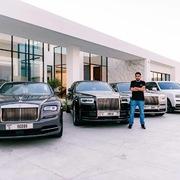 Bộ sưu tập xe Rolls-Royce của tỷ phú 29 tuổi