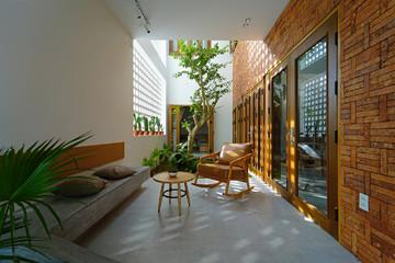 Ngôi nhà để trống 30% diện tích có chủ đích