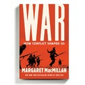 """<p> <strong>War - Margaret MacMillan</strong></p> <br /><p class=""""Normal""""> Đây là một cuốn sách mỏng nhưng lại đi sâu chi tiết vào một chủ đề hấp dẫn: chiến tranh. MacMillan nhận định rằng, chiến tranh dù đã dẫn đến nhiều thảm họa lớn trong lịch sử loài người nhưng cũng dẫn đến nhiều thành tựu lớn nhất của nền văn minh nhân loại.</p> <p class=""""Normal""""> Rút ra bài học từ các cuộc chiến tranh trong suốt quá khứ, từ lịch sử cổ đại cho đến ngày nay, MacMillan tiết lộ nhiều khía cạnh của chiến tranh - cách nó quyết định quá khứ, tương lai, quan điểm của chúng ta về thế giới và chính bản thân mình.</p>"""
