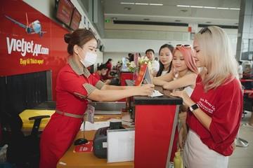 Vietjet bán vé 555.000 đồng bay khắp Việt Nam