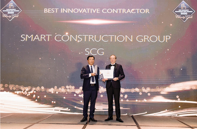 SCG được vinh danh Nhà thầu xây dựng đột phá nhất Đông Nam Á 2020