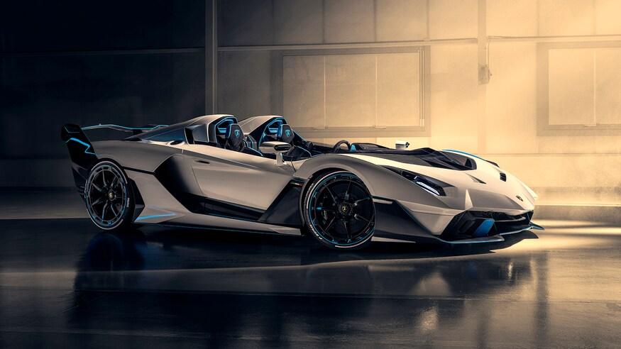 Lamborghini SC20: Siêu xe không mui chỉ có một chiếc