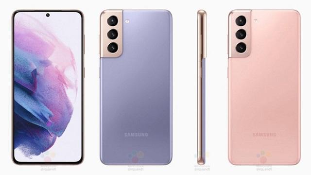 Hình ảnh của Galaxy S21 và S21+ xuất hiện
