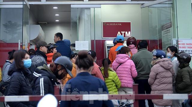 Không để thiếu tiền tại các ATM dịp Tết Nguyên đán