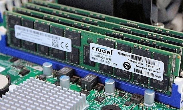 Các thanh RAM trong một bộ máy tính. Ảnh: TweakTown.