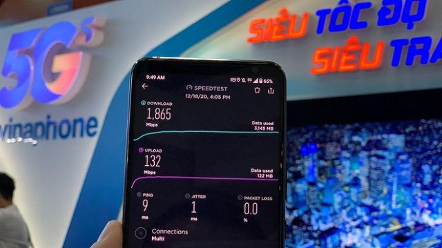 Chính thức phủ sóng VinaPhone 5G tại trung tâm Hà Nội và TP HCM