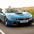 """<p class=""""Normal""""> <strong>BMW i8</strong><br /><br /> Khi BMW tung ra chiếc i8, chiếc xe này đã trở thành trung tâm thu hút sự chú ý bởi sự độc đáo và mới lạ của nó. Chiếc xe được cung cấp sức mạnh từ động cơ xăng dung tích 1,5 lít công suất 228 mã lực kết hợp với động cơ điện 131 mã lực. Với thân xe được cấu tạo bằng sợi carbon, BMW i8 có thể đạt được tốc độ 0-100 km/h chỉ trong 4,4 giây, trong khi vẫn có mức tiết kiệm nhiên liệu đáng nể.</p> <p class=""""Normal""""> BMW i8 được đánh giá là chiếc xe tạo ra đột phá trên nhiều phương diện. Hiện tại, BMW chưa tiết lộ kế hoạch sản xuất mẫu xe sẽ thay thế thay thế. (Ảnh: <em>Autocar</em>)</p>"""
