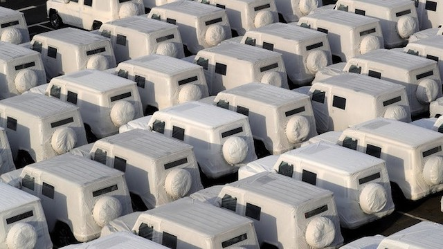Màu trắng được sử dụng nhiều nhất cho ngoại thất ôtô.