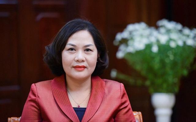 Thống đốc NHNN Nguyễn Thị Hồng. Ảnh: SBV.