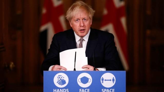 Thủ tướng Anh Boris Johnson. Ảnh: AFP.