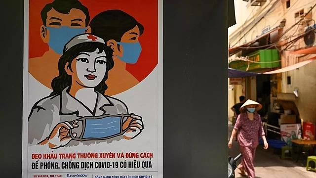 Theo WB, Việt Nam là một trong ba nền kinh tế tăng trưởng dương năm nay. Ảnh: AFP