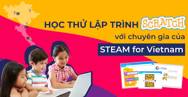 Ảnh: STEAM for Vietnam.