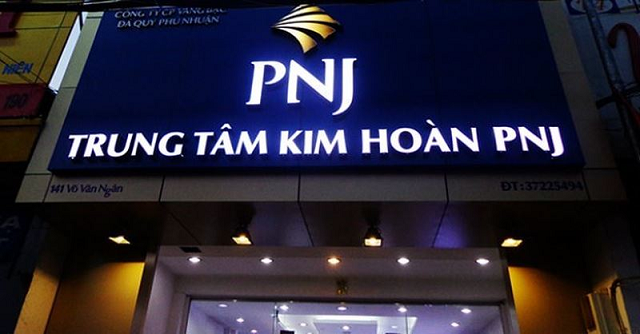 PNJ lãi 120 tỷ tháng 11, giảm 12%