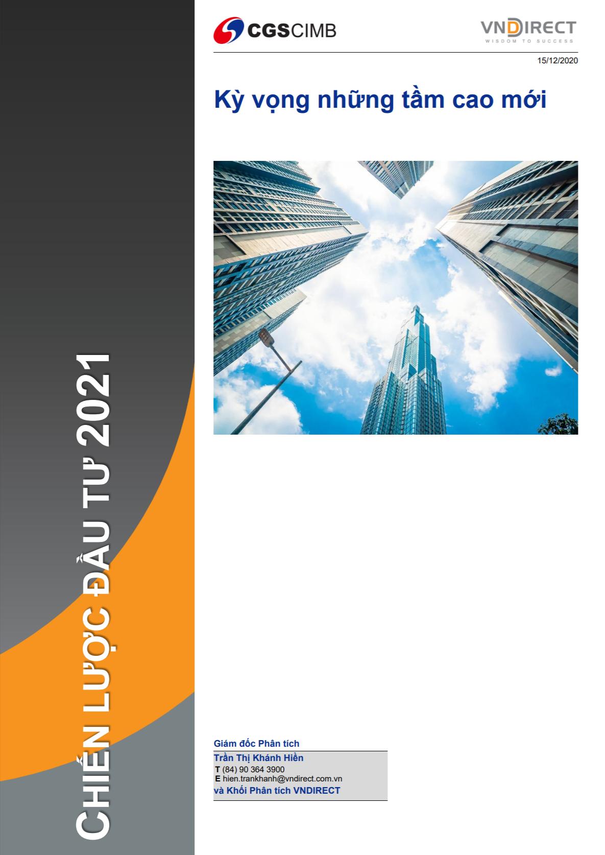 VNDirect: Báo cáo chiến lược đầu tư 2021