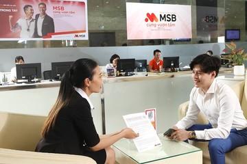 MSB - Ngân hàng tiên phong với bancassurance độc quyền