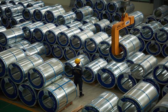 Quyết định áp thuế chống bán phá giá đối với thép cán nguội nhập khẩu từ Trung Quốc phần nào làm giảm áp lực cạnh tranh cho các doanh nghiệp sản xuất thép trong nước ở cùng chủng loại sản phẩm - Ảnh: T.V.N