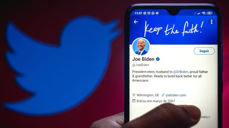 Twitter sẽ không chuyển người theo dõi Trump sang Biden