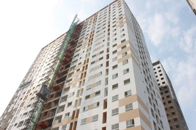 Một phần dự án Hưng Ngân Garden của Công ty Nhà Hưng Ngân là tài sản đảm bảo cho khoản nợ đang được BIDV bán đấu giá. Ảnh: NHN.