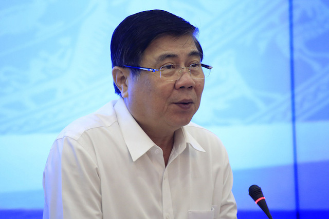 Chủ tịch UBND TP HCM Nguyễn Thành Phong chỉ đạo, điều hành và quản lý chung mọi hoạt động của UBND TP.
