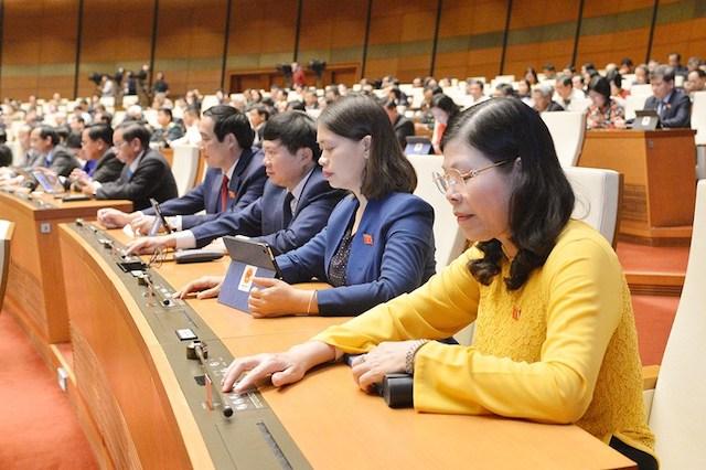 Nghị quyết được Quốc hội thông qua tại kỳ họp thứ 10.
