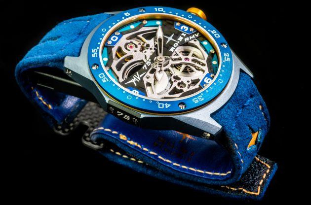 Đồng hồ đeo tay giá gần 1,6 tỷ đồng lấy cảm hứng từ môtô MV Agusta