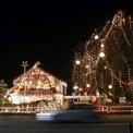 <p> Một ngôi nhà rực ánh đèn tạiStansstad, Thụy Sĩ.</p>