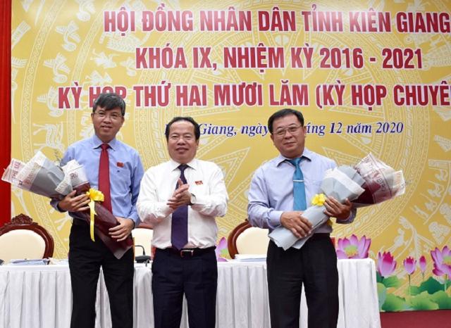 Giám đốc Sở Tài chính tỉnh Kiên Giang là Phó Chủ tịch UBND tỉnh